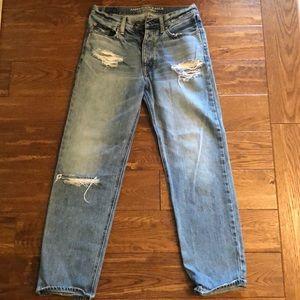 American Eagle High Waisted Boyfriend Jeans